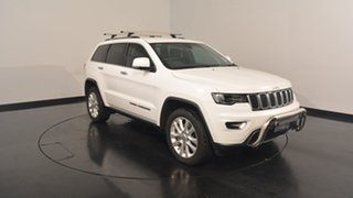 2017 Jeep Grand Cherokee WK MY17 Limited Bright White 8 Speed Sports Automatic Wagon.