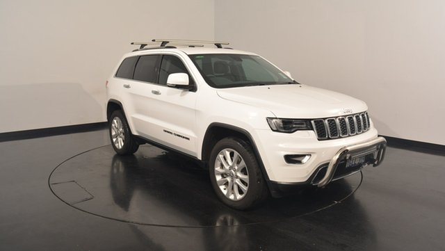 Used Jeep Grand Cherokee WK MY17 Limited, 2017 Jeep Grand Cherokee WK MY17 Limited Bright White 8 Speed Sports Automatic Wagon
