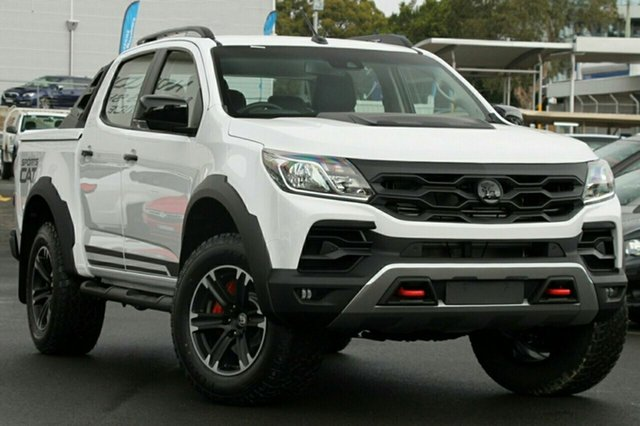 New Holden Special Vehicles Colorado RG MY18 SportsCat+ Pickup Crew Cab, 2018 Holden Special Vehicles Colorado RG MY18 SportsCat+ Pickup Crew Cab Summit White 6 Speed