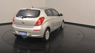 2012 Hyundai i20 PB MY13 Active Sleek Silver 6 Speed Manual Hatchback