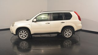 2012 Nissan X-Trail T31 Series V TI White 1 Speed Constant Variable Wagon.
