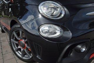 2019 Abarth 595 Series 4 Competizione Dualogic Scorpione Black 5 Speed.