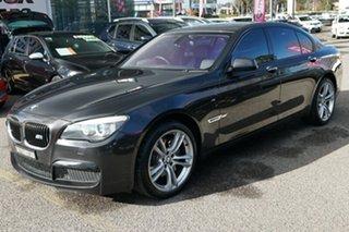 2012 BMW 730d F01 MY0911 Steptronic Black 6 Speed Sports Automatic Sedan.