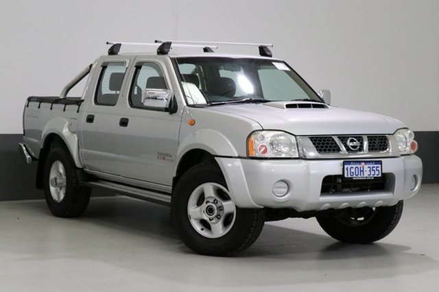Used Nissan Navara D22 Series 5 ST-R (4x4), 2011 Nissan Navara D22 Series 5 ST-R (4x4) Silver 5 Speed Manual Dual Cab Pick-up