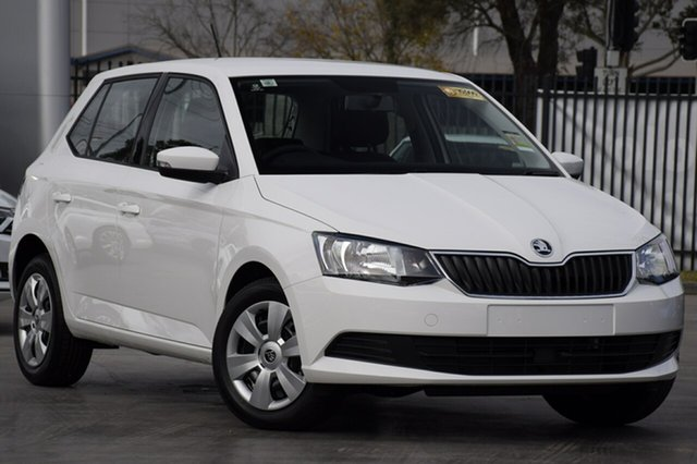 New Skoda Fabia NJ MY20 81TSI DSG, 2019 Skoda Fabia NJ MY20 81TSI DSG Candy White 7 Speed Sports Automatic Dual Clutch Hatchback