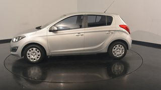 2012 Hyundai i20 PB MY13 Active Sleek Silver 6 Speed Manual Hatchback.