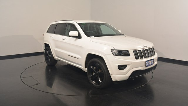Used Jeep Grand Cherokee WK MY15 Blackhawk, 2015 Jeep Grand Cherokee WK MY15 Blackhawk Bright White 8 Speed Sports Automatic Wagon
