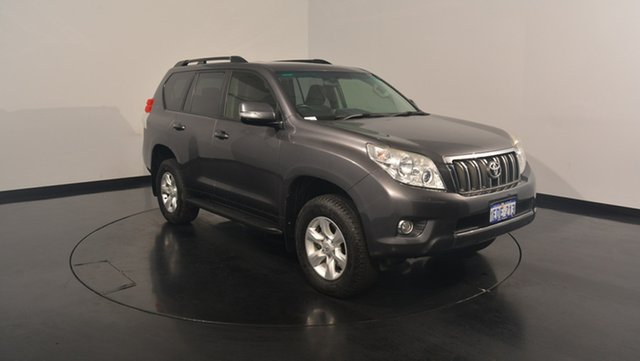 Used Toyota Landcruiser Prado GRJ150R GXL, 2013 Toyota Landcruiser Prado GRJ150R GXL Grey 5 Speed Sports Automatic Wagon