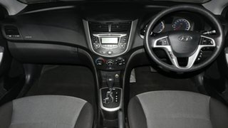 2012 Hyundai Accent RB Active White 4 Speed Sports Automatic Sedan