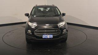 2014 Ford Ecosport BK Titanium PwrShift Black 6 Speed Sports Automatic Dual Clutch Wagon