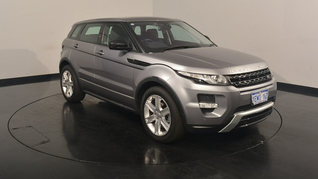 Used Land Rover Range Rover Evoque L538 MY14 SD4 Dynamic, 2014 Land Rover Range Rover Evoque L538 MY14 SD4 Dynamic Grey 9 Speed Sports Automatic Wagon