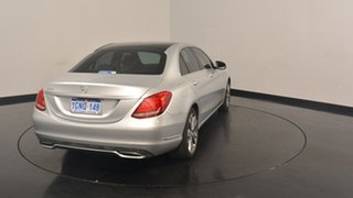 2014 Mercedes-Benz C200 W205 7G-Tronic + Silver 7 Speed Sports Automatic Sedan