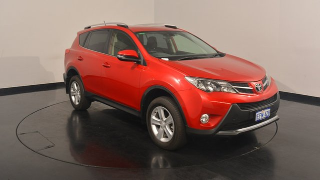 Used Toyota RAV4 ALA49R GXL AWD, 2013 Toyota RAV4 ALA49R GXL AWD Red 6 Speed Sports Automatic Wagon