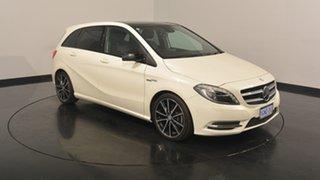 2014 Mercedes-Benz B250 W246 DCT White 7 Speed Sports Automatic Dual Clutch Hatchback
