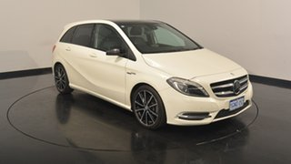 2014 Mercedes-Benz B250 W246 DCT White 7 Speed Sports Automatic Dual Clutch Hatchback.