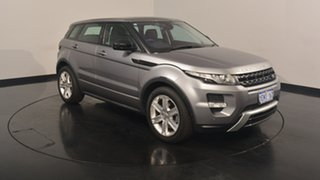 2014 Land Rover Range Rover Evoque L538 MY14 SD4 Dynamic Grey 9 Speed Sports Automatic Wagon