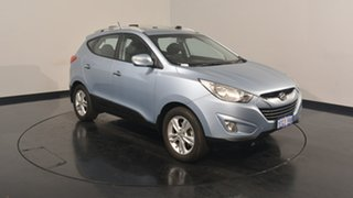 2013 Hyundai ix35 LM2 Elite Ice Blue 6 Speed Sports Automatic Wagon