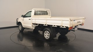 2013 Toyota Hilux KUN26R MY12 Workmate White 5 Speed Manual Cab Chassis.