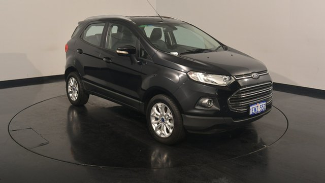 Used Ford Ecosport BK Titanium PwrShift, 2014 Ford Ecosport BK Titanium PwrShift Black 6 Speed Sports Automatic Dual Clutch Wagon