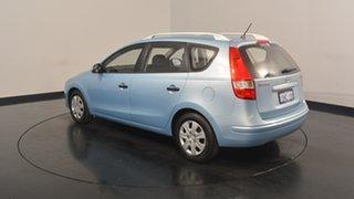 2010 Hyundai i30 FD MY11 SX cw Wagon Blue 5 Speed Manual Wagon.