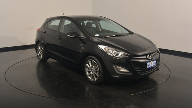 Used Hyundai i30 GD2 SR, 2013 Hyundai i30 GD2 SR Black 6 Speed Manual Hatchback