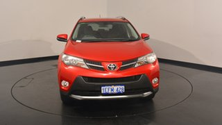 2013 Toyota RAV4 ALA49R GXL AWD Red 6 Speed Sports Automatic Wagon