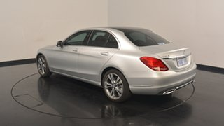 2014 Mercedes-Benz C200 W205 7G-Tronic + Silver 7 Speed Sports Automatic Sedan.