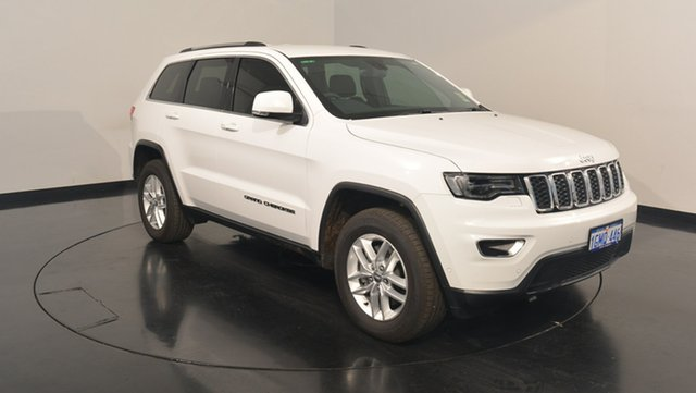 Used Jeep Grand Cherokee WK MY17 Laredo 4x2, 2017 Jeep Grand Cherokee WK MY17 Laredo 4x2 Bright White 8 Speed Sports Automatic Wagon