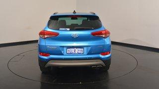 2017 Hyundai Tucson TLe MY17 Highlander D-CT AWD Ara Blue 7 Speed Sports Automatic Dual Clutch Wagon