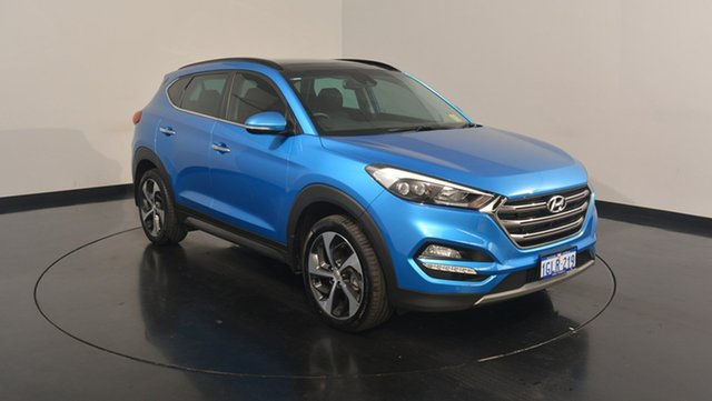Used Hyundai Tucson TLe MY17 Highlander D-CT AWD, 2017 Hyundai Tucson TLe MY17 Highlander D-CT AWD Ara Blue 7 Speed Sports Automatic Dual Clutch Wagon