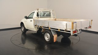 2013 Mitsubishi Triton MN MY13 GLX 4x2 White 4 Speed Sports Automatic Cab Chassis.