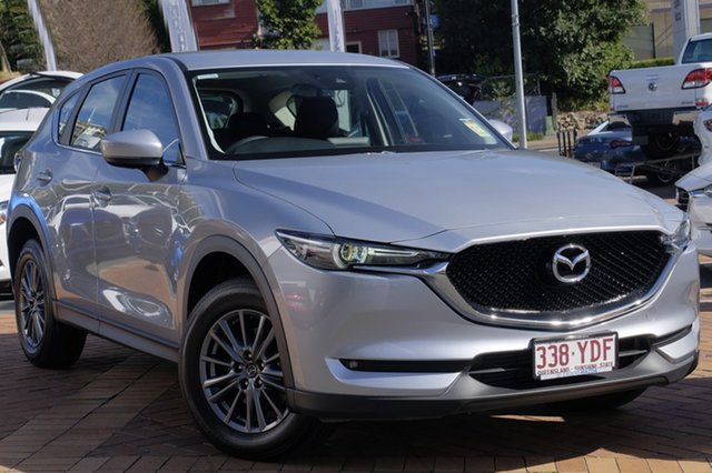 Demo Mazda CX-5 KF4W2A Maxx SKYACTIV-Drive i-ACTIV AWD Sport, 2017 Mazda CX-5 KF4W2A Maxx SKYACTIV-Drive i-ACTIV AWD Sport Sonic Silver 6 Speed Sports Automatic