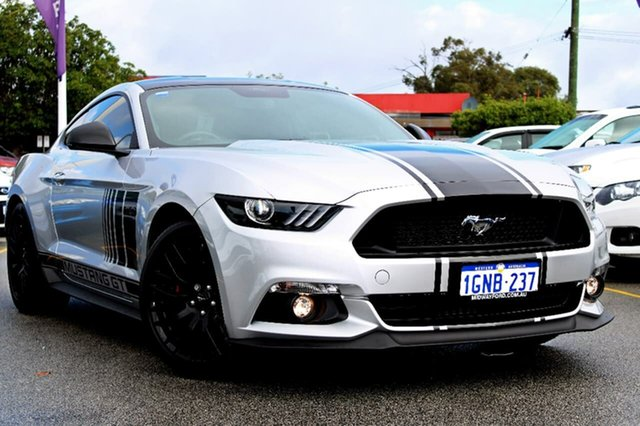 Demo Ford Mustang FM MY17 GT Fastback SelectShift, 2017 Ford Mustang FM MY17 GT Fastback SelectShift Silver 6 Speed Sports Automatic Fastback