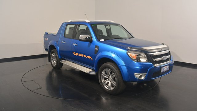 Used Ford Ranger PK Wildtrak Crew Cab, 2011 Ford Ranger PK Wildtrak Crew Cab Blue 5 Speed Manual Utility