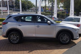 2017 Mazda CX-5 KF4W2A Maxx SKYACTIV-Drive i-ACTIV AWD Sport Sonic Silver 6 Speed Sports Automatic.