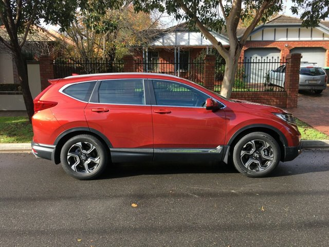 Demo Honda CR-V RW MY18 VTi-S FWD, 2018 Honda CR-V RW MY18 VTi-S FWD Passion Red 1 Speed Constant Variable Wagon