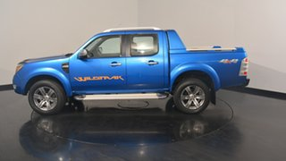 2011 Ford Ranger PK Wildtrak Crew Cab Blue 5 Speed Manual Utility.