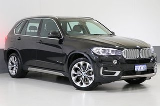 2017 BMW X5 F15 MY16 xDrive 30D Black 8 Speed Automatic Wagon.