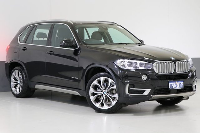 Used BMW X5 F15 MY16 xDrive 30D, 2017 BMW X5 F15 MY16 xDrive 30D Black 8 Speed Automatic Wagon