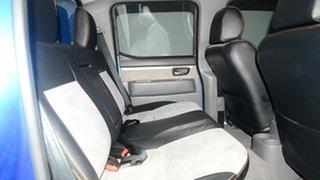 2011 Ford Ranger PK Wildtrak Crew Cab Blue 5 Speed Manual Utility