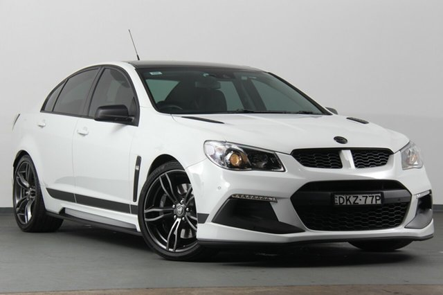 Used Holden Special Vehicles Clubsport GEN-F2 MY16 R8 SV Black, 2016 Holden Special Vehicles Clubsport GEN-F2 MY16 R8 SV Black White 6 Speed Sports Automatic Sedan