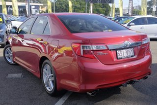 2014 Toyota Camry ASV50R Atara S Red 6 Speed Sports Automatic Sedan.