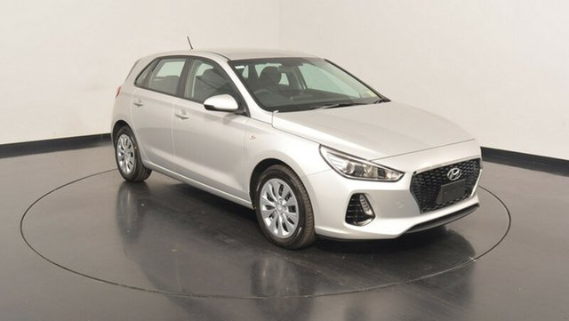 New Hyundai i30 PD MY18 Go, 2018 Hyundai i30 PD MY18 Go Platinum Silver Metallic 6 Speed Sports Automatic Hatchback