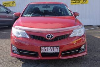 2014 Toyota Camry ASV50R Atara S Red 6 Speed Sports Automatic Sedan