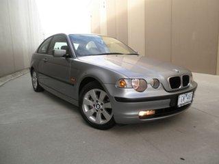 2005 BMW 318ti E46/5 MY04 Steptronic Grey Titanium 5 Speed Sports Automatic Hatchback.