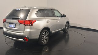2017 Mitsubishi Outlander ZK MY17 LS 2WD Sterling Silver 6 Speed Constant Variable Wagon