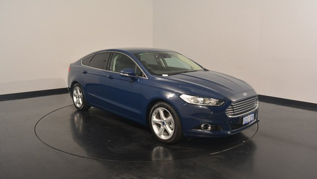Used Ford Mondeo MD 2017.00MY Trend SelectShift, 2017 Ford Mondeo MD 2017.00MY Trend SelectShift Blazer Blue 6 Speed Sports Automatic Hatchback