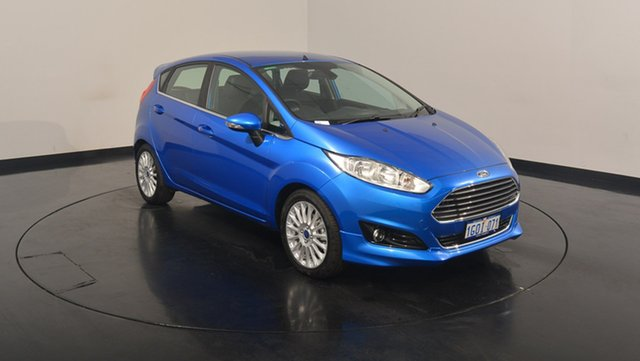Used Ford Fiesta WZ Sport PwrShift, 2017 Ford Fiesta WZ Sport PwrShift Winning Blue 6 Speed Sports Automatic Dual Clutch Hatchback