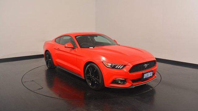 Used Ford Mustang FM MY17 Fastback SelectShift, 2017 Ford Mustang FM MY17 Fastback SelectShift Race Red 6 Speed Sports Automatic Fastback