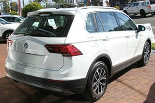 2018 Volkswagen Tiguan 5N MY18 132TSI DSG 4MOTION Comfortline Pure White 7 Speed.